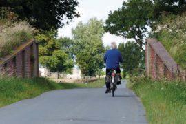 Dijkgat nabij Uithuizen